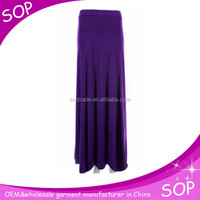 Latest long plain formal skirts designs