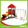 Animal Tube Slide Kids Plastic Playground Toy with Free Swing Playground Accessories made in China