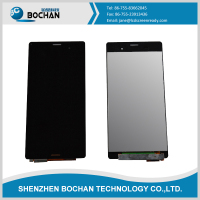 Wholesale smartphone lcd display digitizer for sony z3 lcd screen with frame replacement for sony xperia z3 lcd screen parts