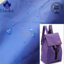 oxford fabric bag material / school bag fabric material / polyester bag fabric