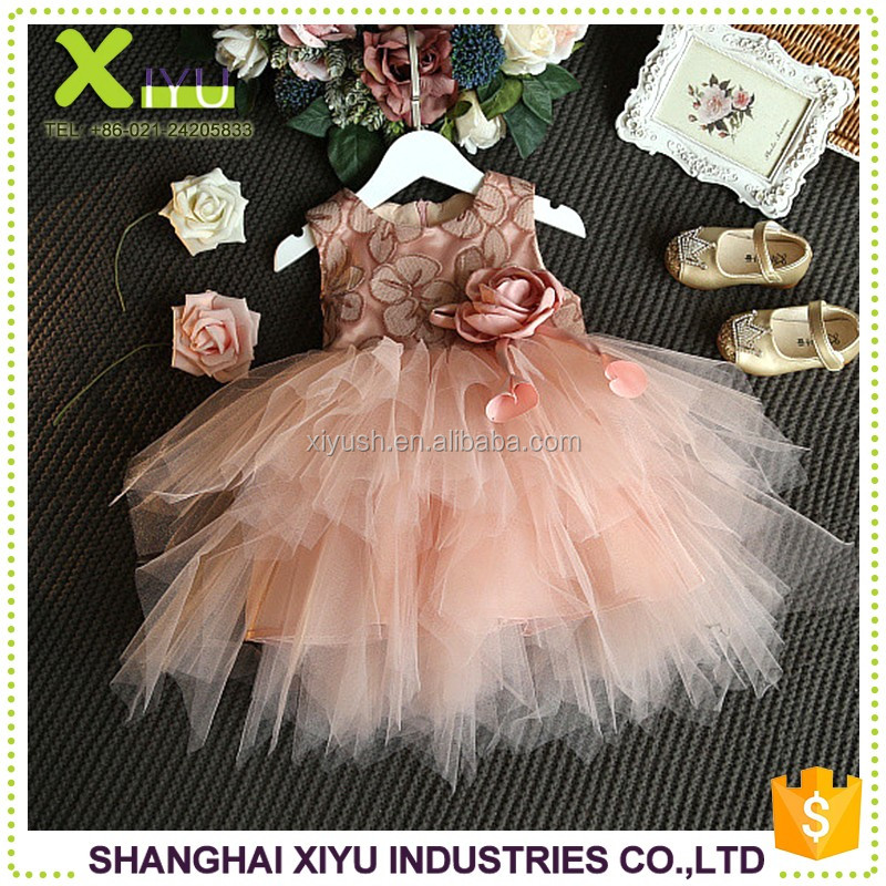 New style Trade Assurance baby party frocks