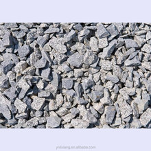 dark grey and black aggregate crushed stone for sale