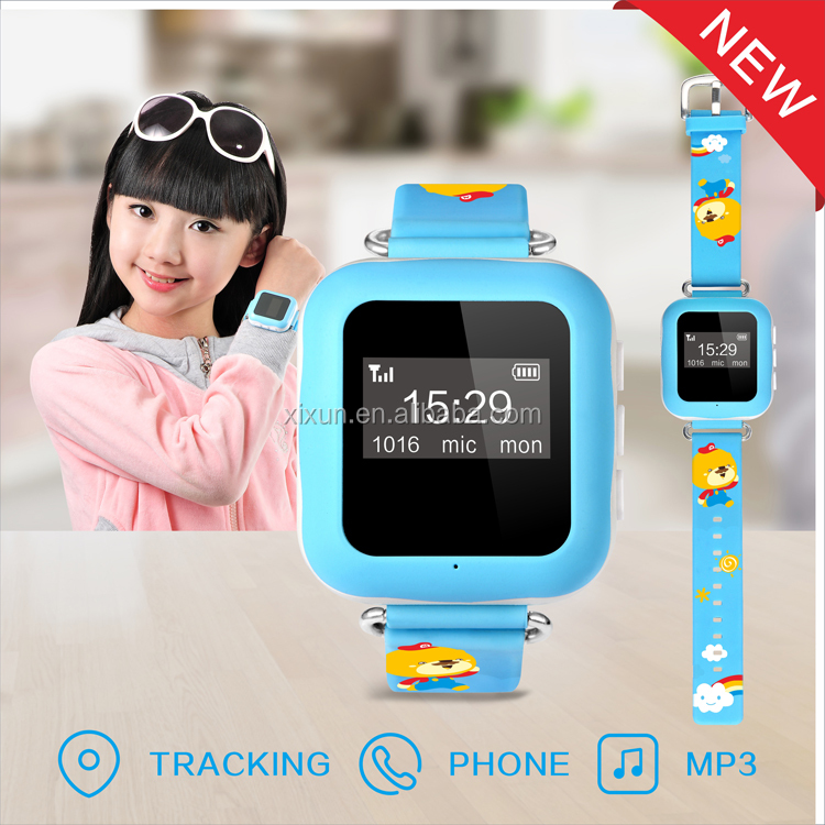 Direct Manufacturer xexun cheapest smart phone watch with wifi/gps/lbs tracking,sos/geofence alert/wechat