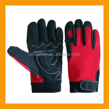 Anti-shock mechanic work gloves for safetyZM891-H