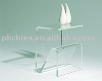 Clear Perspex Side Table,Stylish PMMA Vase Display Table LY-1016