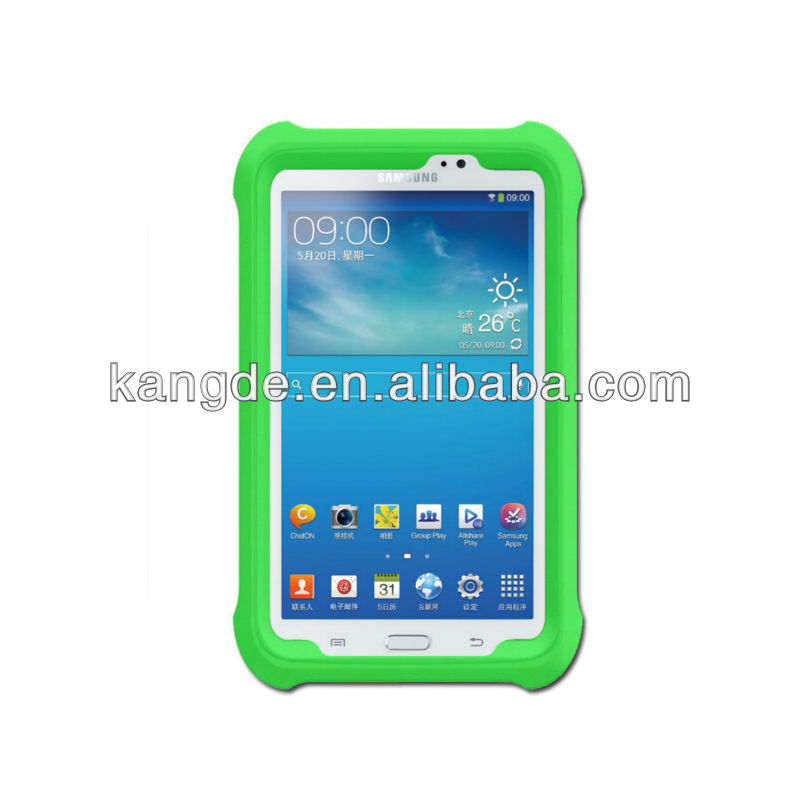 shock impact resistant ODM OEM silicone case for 7 inch tablet pc