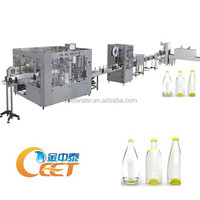 Small Scale Drinking Water Filling Machine / Turnkey Water Bottling Plant / Complete Drinking Water Line