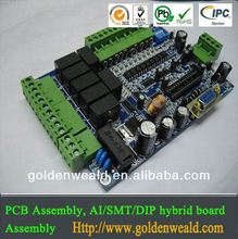 turnkey pcba shenzhen pcb assembly factory Custom High precision double-sided FR4 OEM service