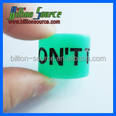 Factory Price Custom silicone finger ring /rubber finger ring band silicone