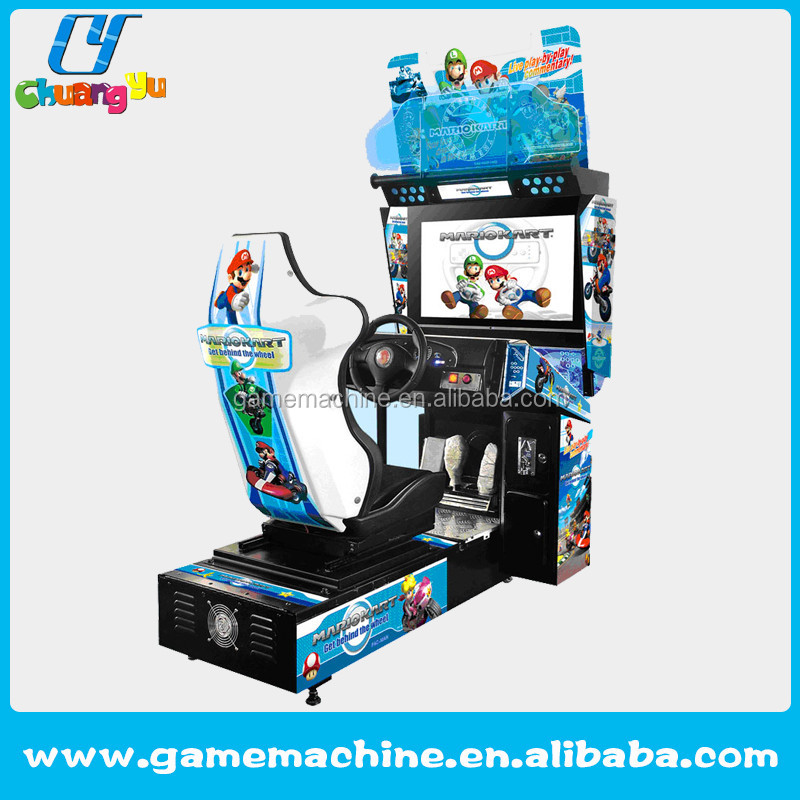 Arcade coin operated Factory price Popular indoor play car racing games car driving arcade game machine