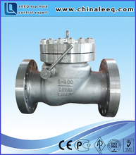 Swing check valve CF8M 8'' Class900 ANSI flange connection