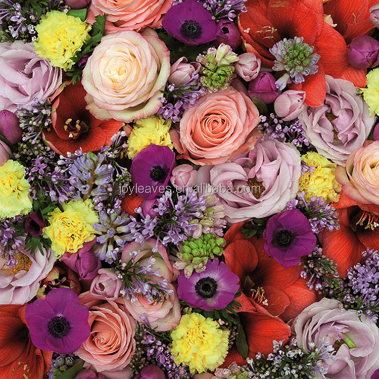 New Wedding Decorative Artificial Silk Flower Walls Rose Flowers