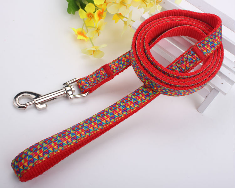 2015 retractable dual handled dog leash with logo printed