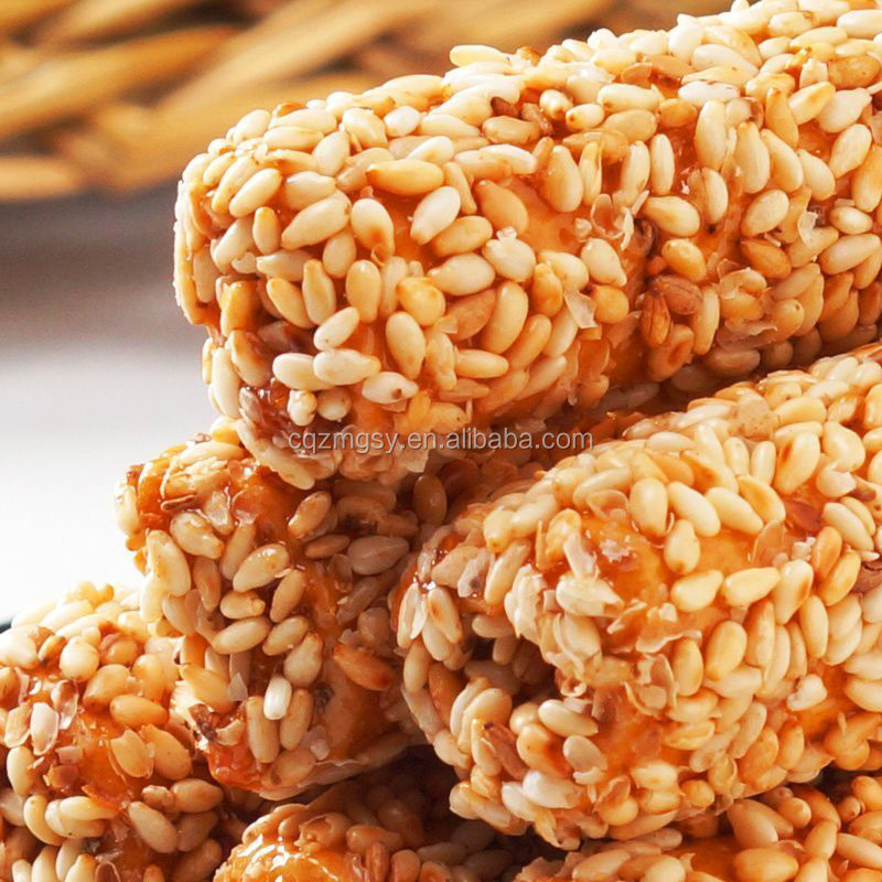 Healthy Snacks For Children Sesame Candy with White Sesame