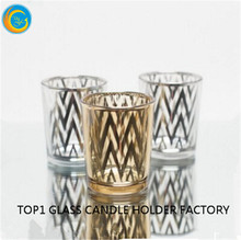 hot selling exquisite tear drop glass candle holder