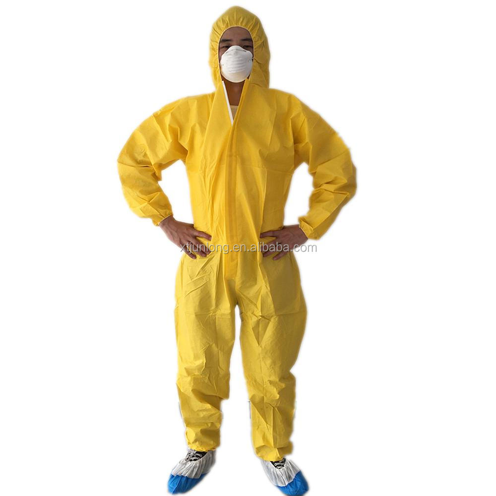 Breathable protective engineering safety clothing uniform coverall