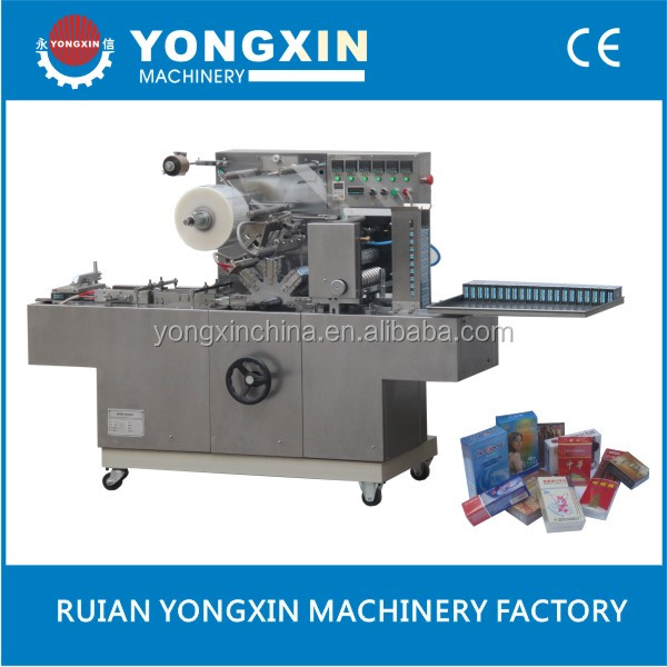 Cellophane Wrapping Machine For DVD Box