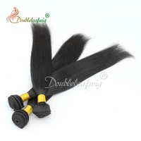 Doubleleaf wigVirgin Brazilian Straight Hair Extensions, 8a Unprocessed Virgin Hair Wholesale