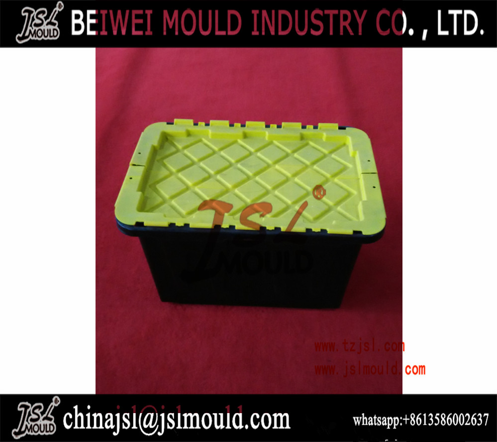 Customized Injection Plastic Tote Bin Mold
