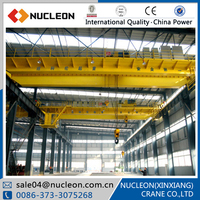 Nucleon europe style top running electric hoist double beam overhead crane