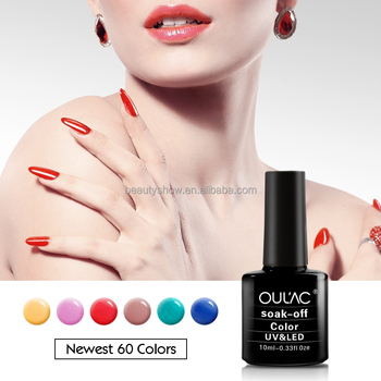 2018 OULAC Charming And High Quality Rich Colors Nail Art Design Gel Polish