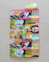 pp woven folded beach mat