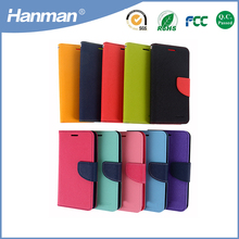 Factory Price Wholesale new design wallet PU leather cell phone case for iphone 6 case