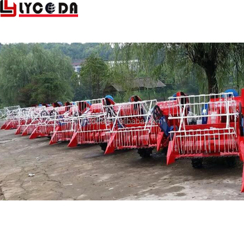 Best selling mini rice paddy cutting machine wheat cutting and harvester machine