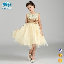 New Design Hot Sale Fashion Baby Party Frocks Kids Bridal 4 Year Old Girl Wedding Dress LM1717