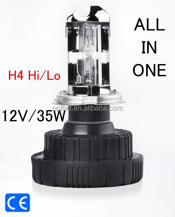 HID H4 H/L h4 all in one installation All In One Kit Xenon converion AC 6000K 8000K 12V/35W headlight beam easy installation