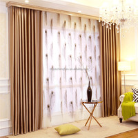Beautiful Simple curtain model fabric design for living room curtain