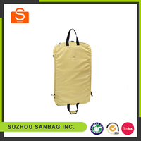 High quality clothing garment bag in yellow wholesale