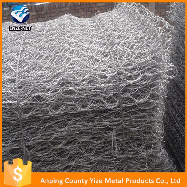 2*1*1 gabion box shaped gabion Hexagonal retaining wall wire netting