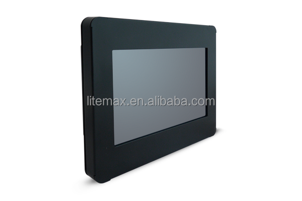 WynMax 7 inchs fanless industrial touch screen panel pc 1 HDMI, 1 DP, 3 USB, 1 COM, 2 LAN