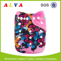 Alvababy Butterflies Design Cotton Baby Diapers Washable Cloth Diapers