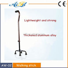 Telescopic Walking Stick Anti-skidding rubber feet-pad Walking Stick for Old people