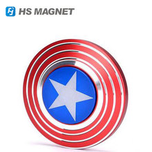 The Anti-Anxiety 360 Spinner Fidget Toy Captain America Shield