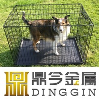 Dog Wire Mesh Pet Crate