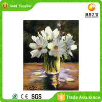 Wholesale Canvas Art Modern Acrylic Painting Flowers