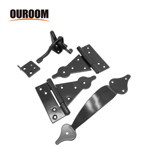 Ouroom/OEM Wholesale Products Customizable XY9002-1 Garden Wooden Vinyl Fence Hardware