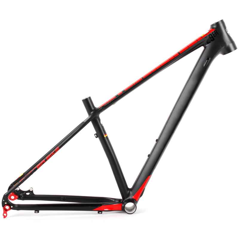 Size 15.5inch 17inch 19inch China light weight raw alloy 29er mtb bicycle frame for sale