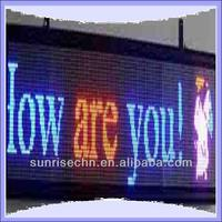 scrolling led light up message board