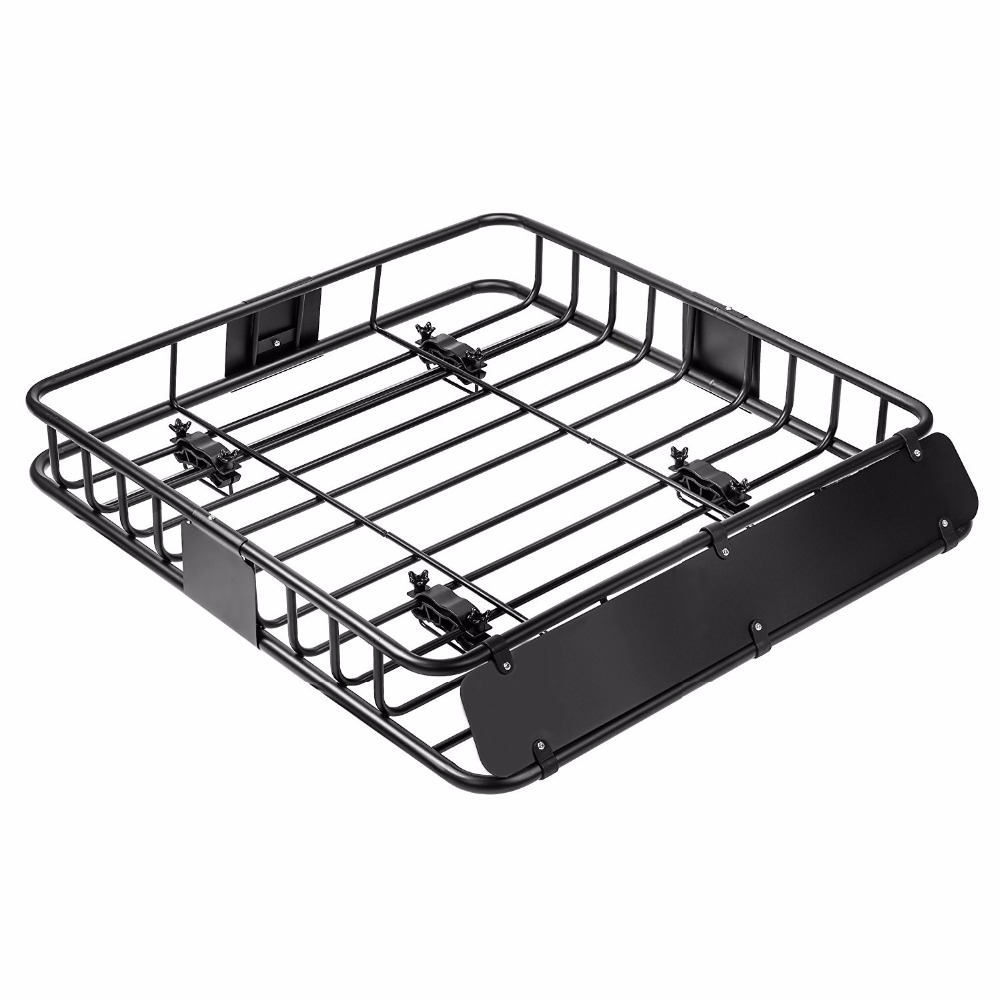 Heavy duty 4x4 universal car roof rack for hauling luggage