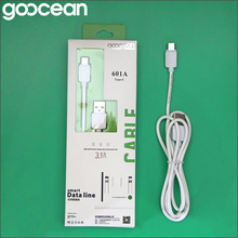 2017 goocean wholesale Type-c usb data cable