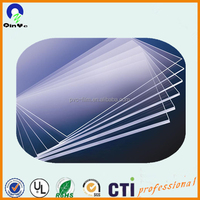 Factory price wholesale 5mm transparent cast acrylic sheet