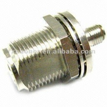 N Female bulkhead to SMA Female RF Connector Adapter