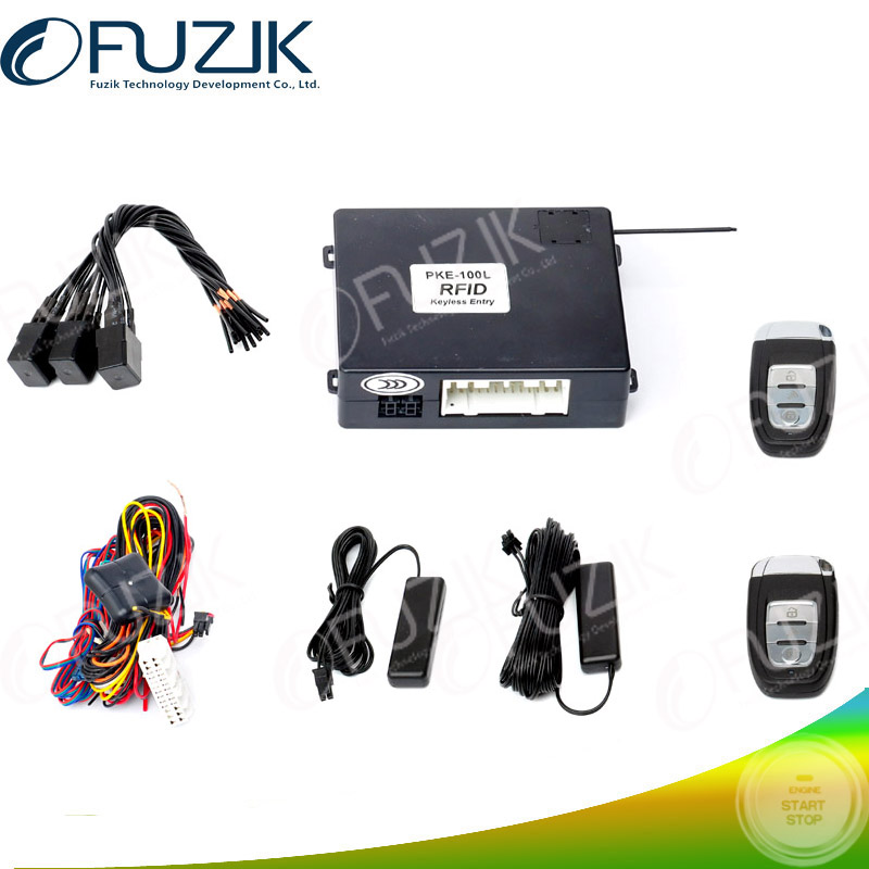 Passive PKE Keyless Entry System and PKE Keyless Door Loco Unlock Car Alarm Security