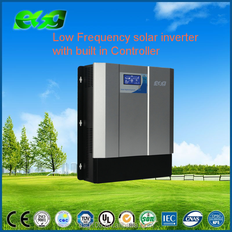 LCD display <strong>1000w</strong> 2000w 3000w hybrid solar inverter Built In PWM/MPPT Solar Controller
