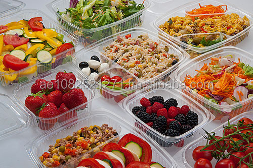 Plastic Disposable Food Containers