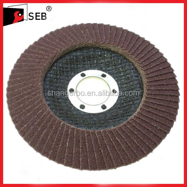 Flap discs for metal